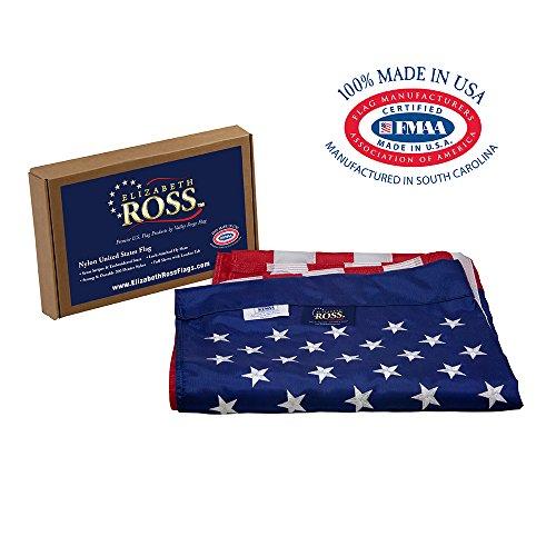 Elizabeth Ross American Flag, Nylon, Perma-NYL, 2.5' x 4', 1