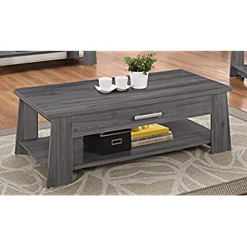 ACME Furniture 83280 Falan Coffee Table, Dark Gray