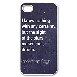 HEHEDE Phone Case Of The Starry Night for iPhone 4/4S