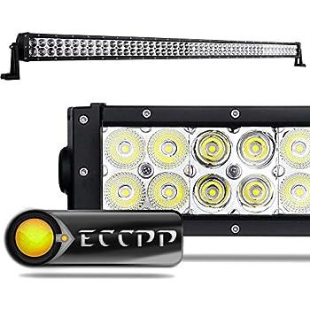 Led Light Bar,ECCPP 52 inch 300W Flood Spot Combo LED Work Light Drving Lights IP 67 Waterproof Off Road Lights Fog Lamp for SUV Ute ATV Truck 4x4 Boat