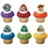 Cake Decorating 12 Ct - Toy Story 3 Buzz Lightyear, Woody And Gang Cupcake Rings