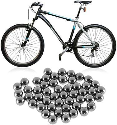 KinshopS - Rodamientos de Acero para Bicicleta (4 mm, 5 mm, 6 mm ...