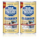 Bar Keepers Friend Powdered Cleanser | 12-Ounces | 2-Pack