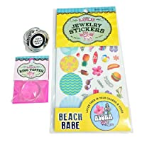 Sugar Lulu DYO Jewelry - Simply Sweet Beach Babe Ring Set