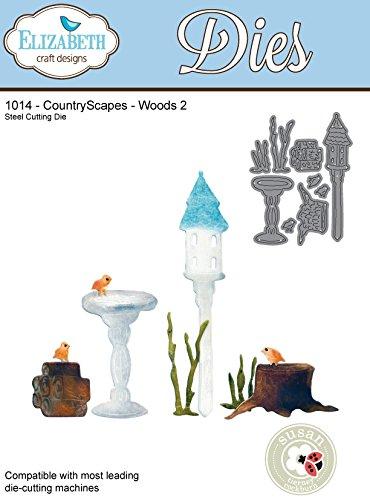 Elizabeth Craft Designs Countryscapes Woods 2 Metal Die