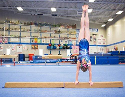 Floor Balance Beam Sports Gymnastic Trainning for Kids Home