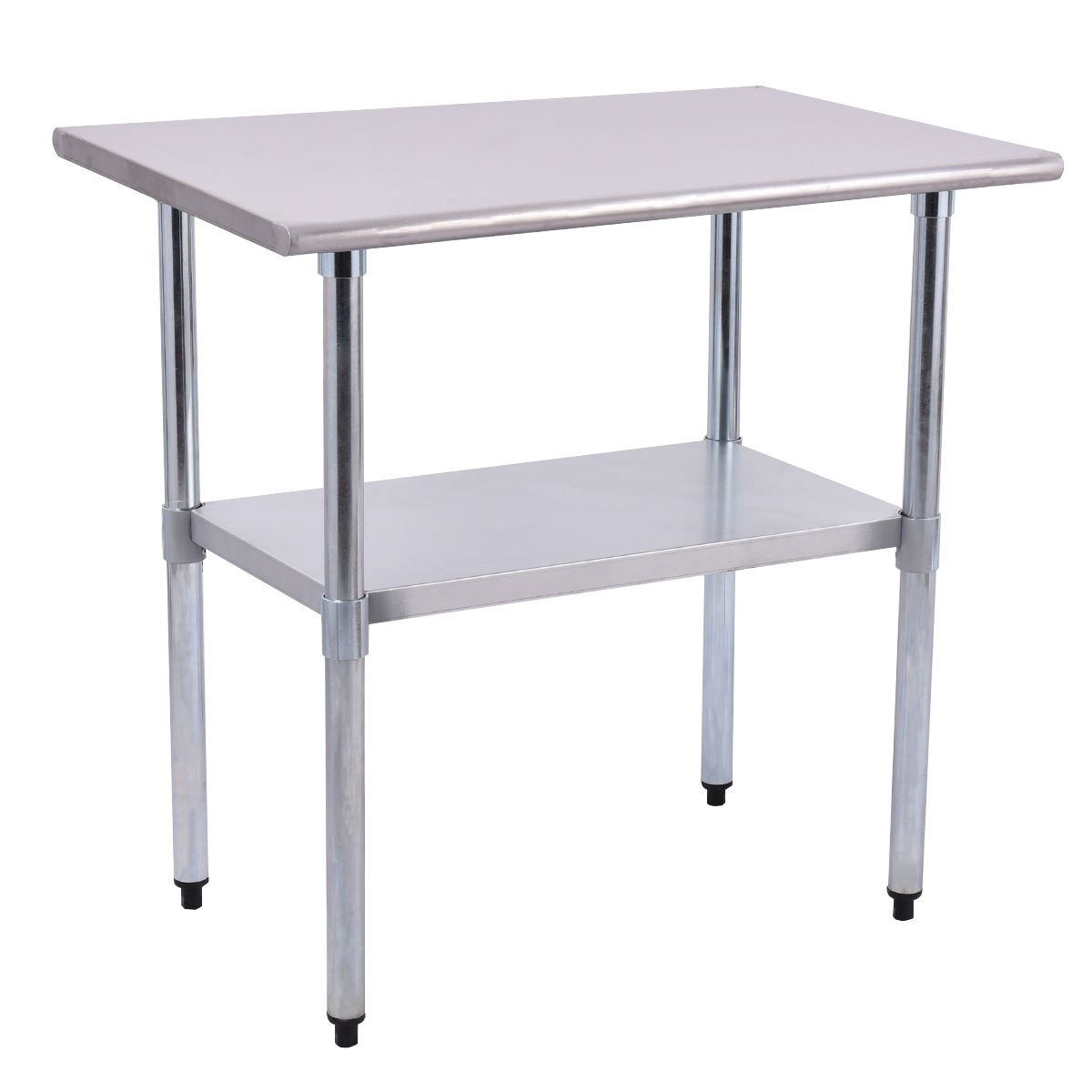 Stainless steel work prep table 24 inch x 36 inch easy to clean and superior working comfort commercial kitchen restaurant