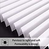 LUCKUP 6 Pack Cordless Light Filtering Pleated