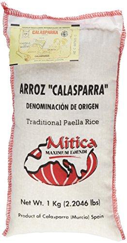Calasparra Rice (Paella Rice) - 2 bags, 4.4 lbs