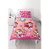 "PAW PATROL Repeat Print Design ""Forever"" Duvet Set, Multi-Colour, Single"