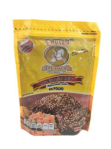 Mole Mexicano Rojo Almendrado En Polvo Don Pancho Red Almond Mole Powder Mexican Sauce - 17.6 Oz - Made in Mexico