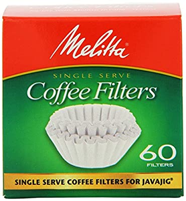 Melitta 63229 Single Serve Coffee Filters For JavaJigTM 60 Count (Pack of 4)