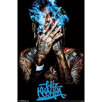 "Trends International Wiz Khalifa Smoke Wall Poster 22.375"" x 34"""