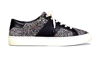 56295ec59 Image Unavailable. Image not available for. Color  Tory Burch Carter  Confetti Glitter Lace Up Sneaker 8.5