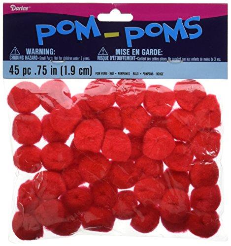 Darice 10176-30 Pom Poms .75