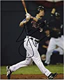 "Justin Morneau Minnesota Twins Autographed 8"" x 10"" Hit Photograph - Fanatics Authentic Certified - Autographed MLB Photos"