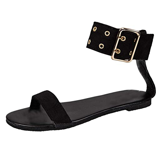 4c01dd314e067 DENER❤ Women Ladies Summer Gladiator Sexy Clear Sandals, Designer ...