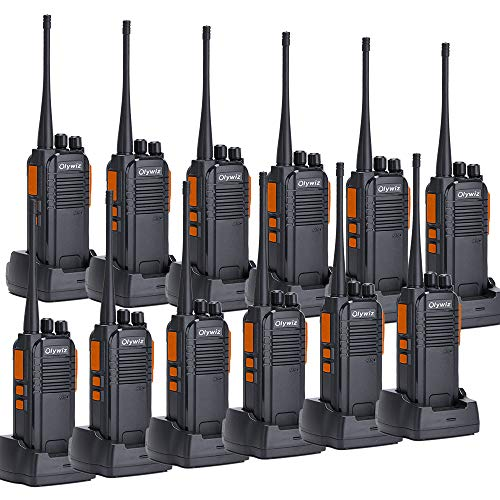 1400mah Rechargeable Li Ion Battery - Walkie Talkies 5W Ham Radio Long Range Olywiz-813 Two Way Radios 1400MAH Rechargeable Li-ion Battery IP 54 Protection for Camping 12 Pack