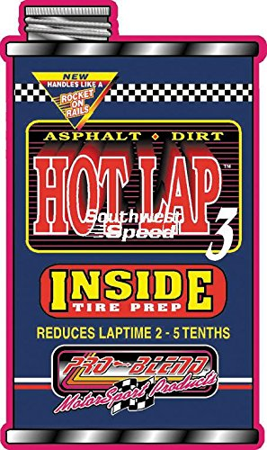 NEW PRO-BLEND KARTING TIRE SOFTENER, GO KART INSIDE TIRE TREATMENT, HOT LAP 3...