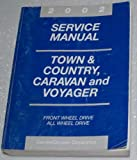 2002 Chrysler Town & Country, Dodge Caravan, Plymouth Voyager Service Manual (Chrysler RS Platform)