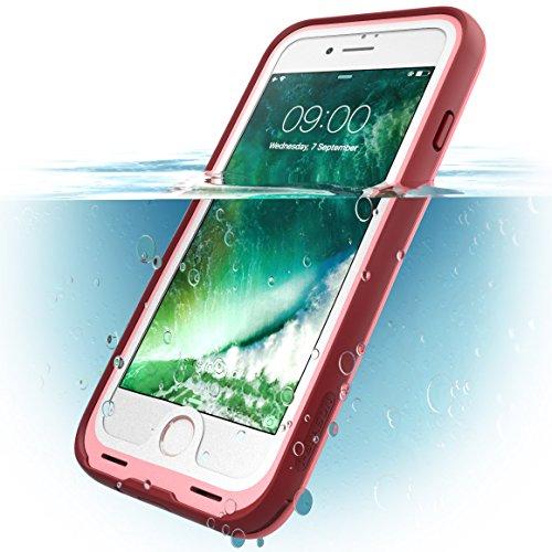 i Blason iPhone7 WaterProof Case Pink Waterproof Full body Rugged