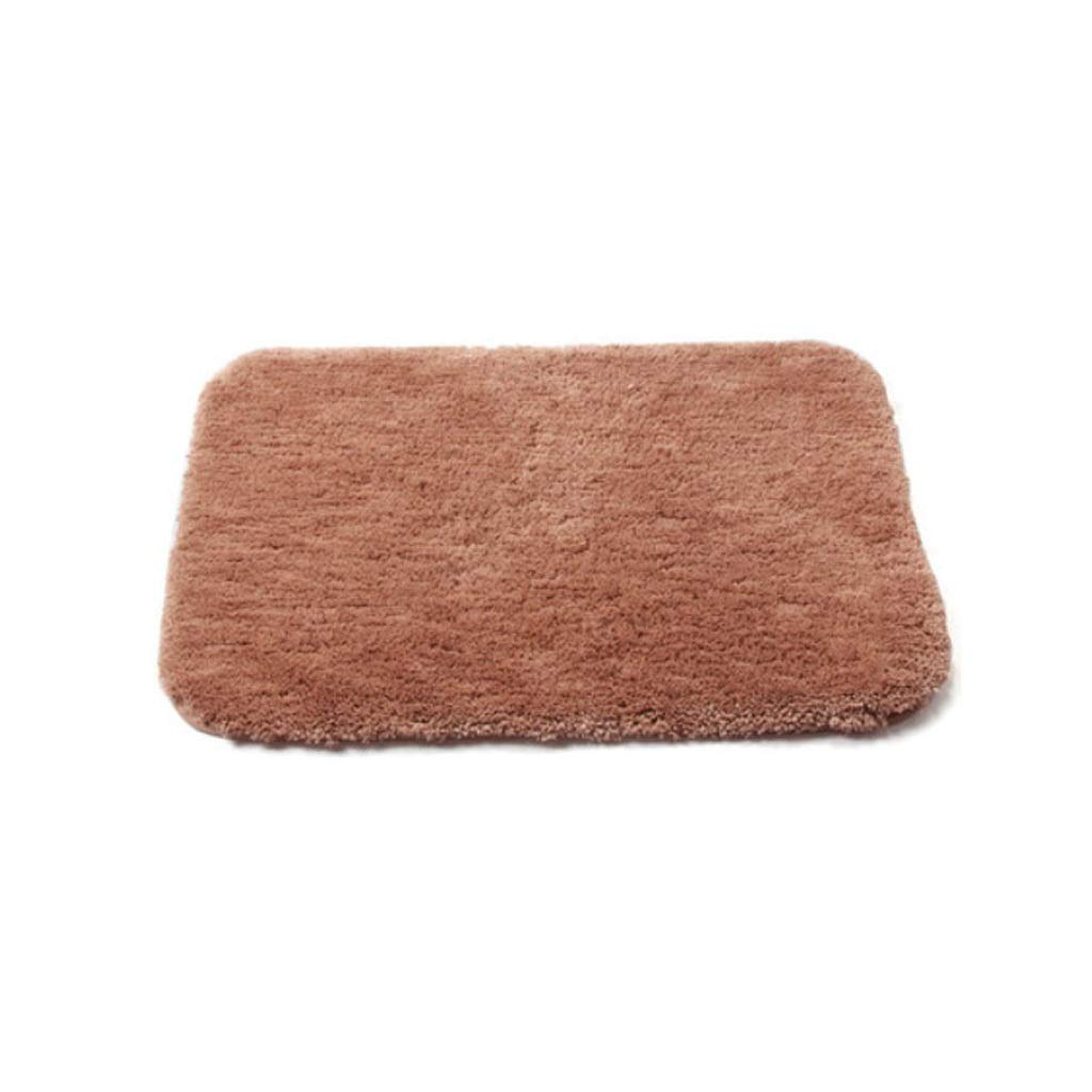 Pink 4060CM Bathroom Kitchen Living Room Carpet Absorbent Non-Slip Mat, Can Be Cleaned and Reused (color   Pink, Size   40  60CM)