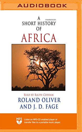 Short History of Africa, A J. D. Fage Roland Oliver
