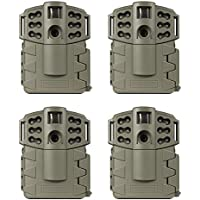 (4) MOULTRIE Game Spy A-5 Gen2 Low Glow Infrared Digital Trail Cameras | 5 MP
