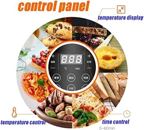 Friteuse air, 3.5L écran tactile LCD -7 menu de préréglage - facile à nettoyer - - frites sans huile - chauffage cycle chauffage - cuisson noir intelligent
