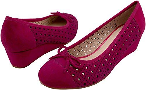 de Rosa de Sehan Rosa Shirin Vestir Piel Zapatos Mujer para IRWCq