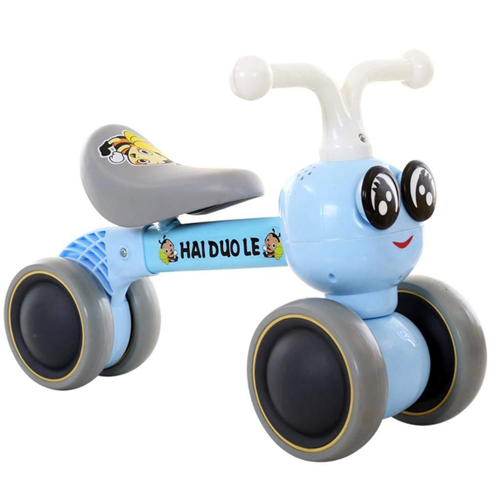 Jinclonder Bicicletas de Equilibrio para beb/és Bicicleta 36 Meses Juguetes para 1 a/ño de Edad Sin pedaleo Infantil 4 Ruedas Ni/ño Primer cumplea/ños de Primer a/ño Regalo Caminante para ni/ños 10 Meses