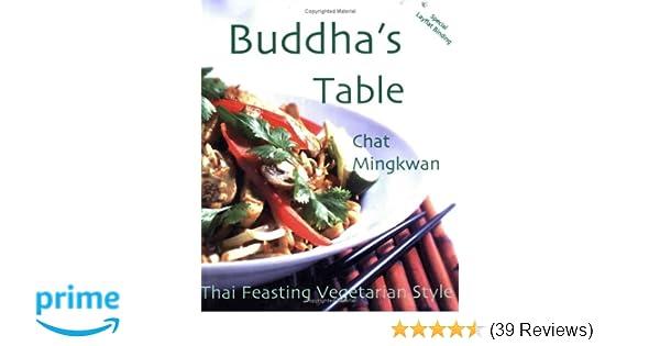 Thai Feasting Vegetarian Style Buddhas Table