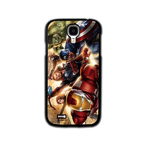 Tomhousomick Custom Design The Avengers Spider-Man Captain America The Hulk Thor Ant-Man Black Widow Iron Man Case Cover for Samsung Galaxy S4 I9500 2015 Hot Fashion Style