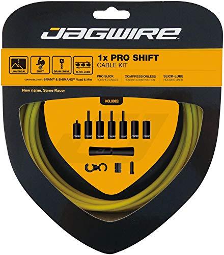 Jagwire 1x Pro Shift Kit Road/Mountain SRAM/Shimano 4mm (Yellow) by Jagwire