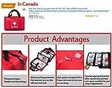 First Aid Kit Survival Kit 130 Pcs,Complete