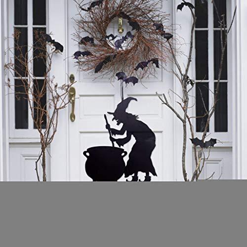 Beyonds Halloween Door Hanging Decorations, Witch Pumpkin Ghost Hanging Pendant Halloween Party Decorations Home Indoor Outdoor Garden Door Wall Bar Decor Supplies ()