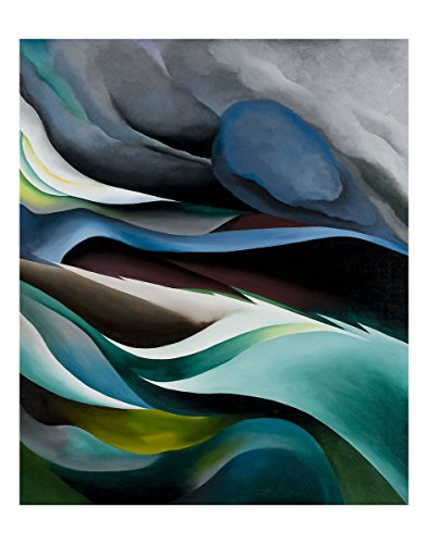 McGaw Graphics from The Lake No.1, 1924 by Georgia O'Keeffe Painting Print (From The Lake By Georgia O Keeffe)