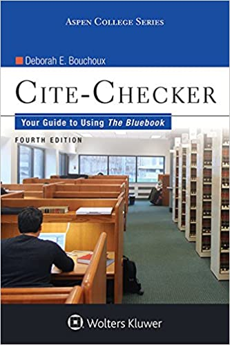 Cite checker your guide to using the bluebook aspen college series cite checker your guide to using the bluebook aspen college series kindle edition by deborah e bouchoux professional technical kindle ebooks ccuart Image collections