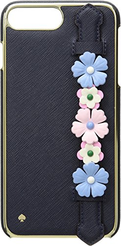 Kate Spade New York Women's Floral Hand Strap Stand Phone Case for iPhone 8 Plus Multi One Size by Kate Spade New York