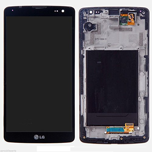 (ePartSolution-OEM LG G Vista D631 VS880 LCD Display Touch Digitizer Screen Assembly Black with Housing Frame Replacement Part USA Seller )