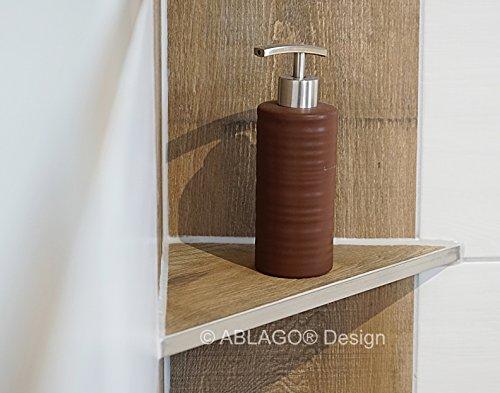 Aquamarin - Estante de ducha - Tipo W 220 - Ángulo - Acero ...