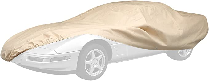 Tan C80002RB Covercraft Ready-Fit Technalon Long Series Car Cover