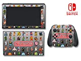 Video Game Classic Retro Characters NES Sprites Video Game Vinyl Decal Skin Sticker Cover for Original Nintendo 3DS System