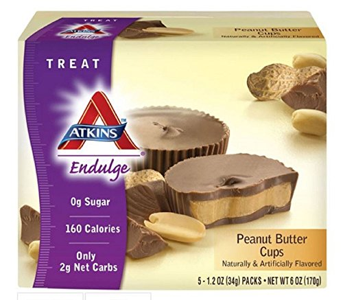 Atkins Endulge Chocolate Peanut Cup 5-1.2 Oz Packs