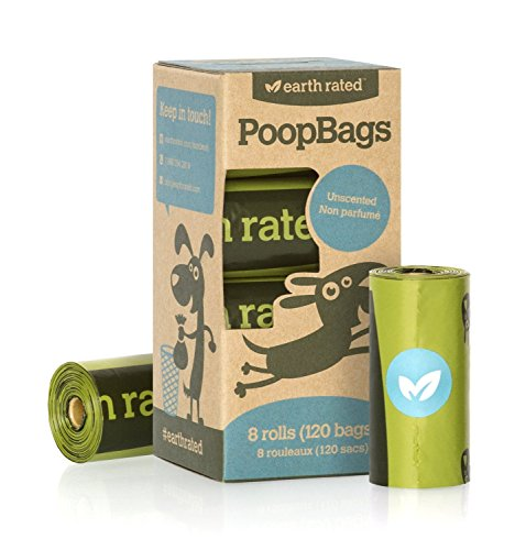 Earth Rated Poop Bags Dog Waste Bags, Refill Rolls(2Pack)