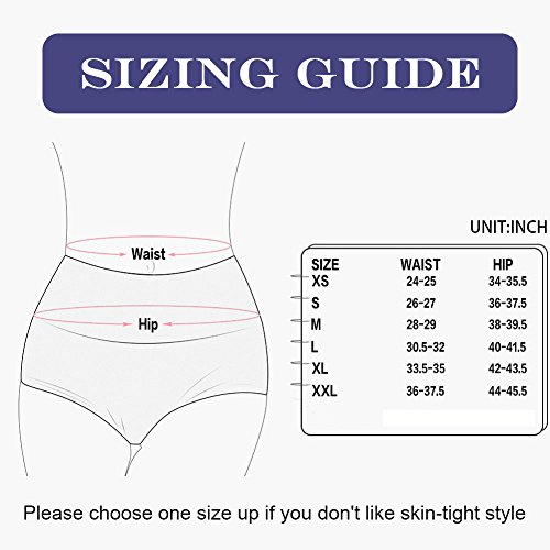 Meromanew Women's Lace Underwear 5 Pack Sexy Briefs Panties Mid Waisted Underwear for Women (Small, Multicolored, 5 Pack)