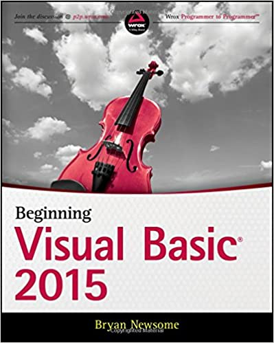 Beginning Visual Basic 2015 ISBN-13 9781119092117