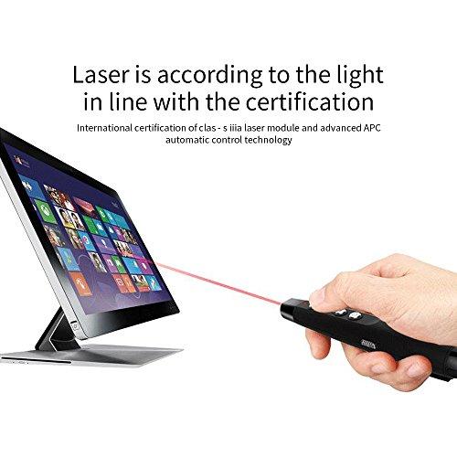 hot sale IDABAY Wireless Presenter Remote Control Laser