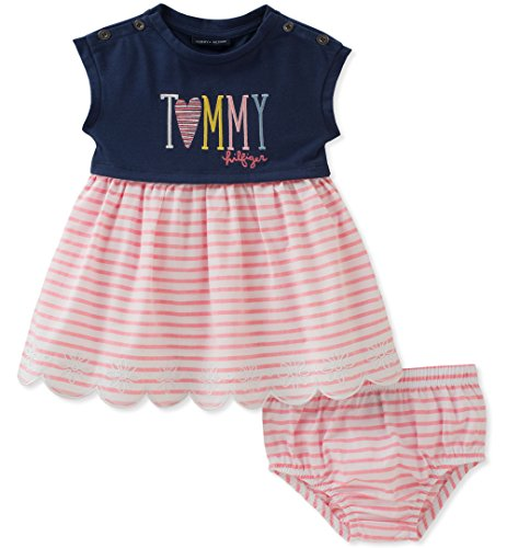 992376dfc Tommy Hilfiger Baby Girls Dress With Panty, Nav... - Crazy by deals
