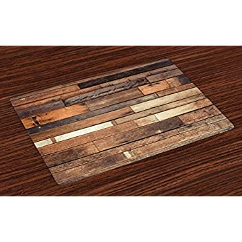 Amazon Com Tuscany Set Of 4 Square Table Mats With